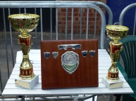 Soapbox Derby Junior Class trophies - 1st, 3rd & fastest single run